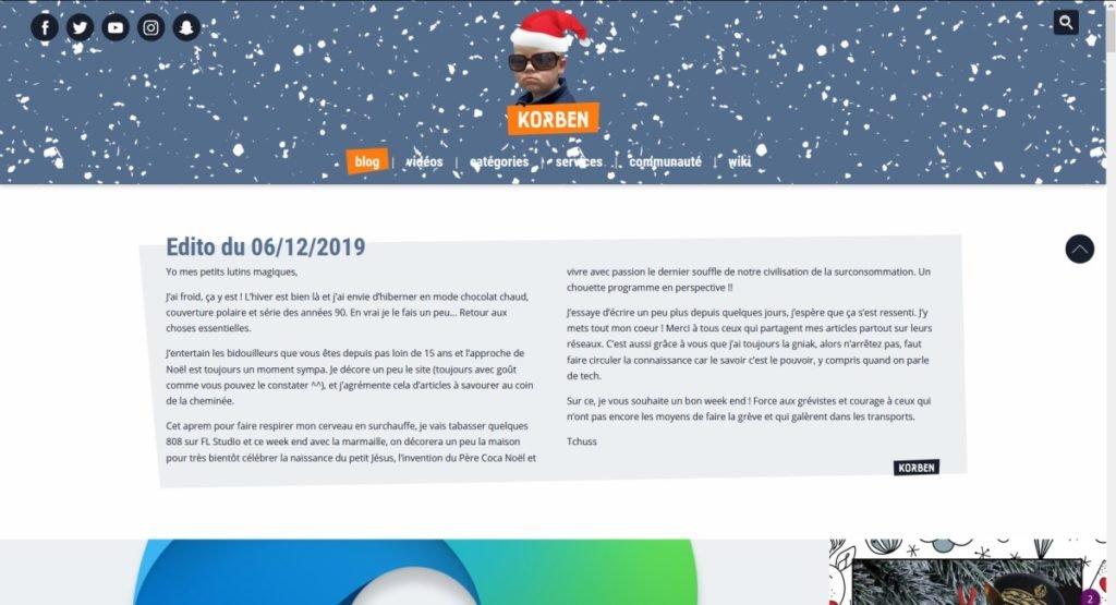 Autoblog de korben.info