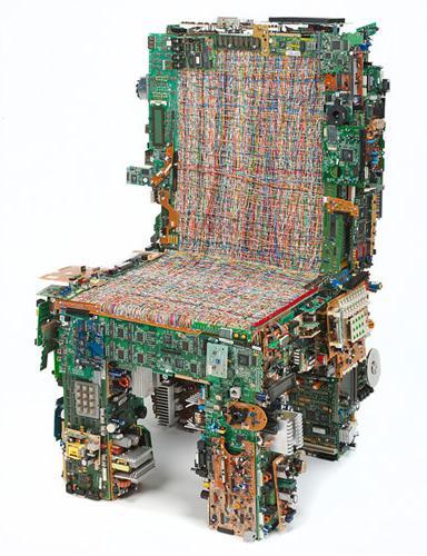 binary chair, de BRC Design