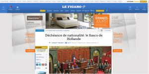 Le Figaro sans plugins chargé