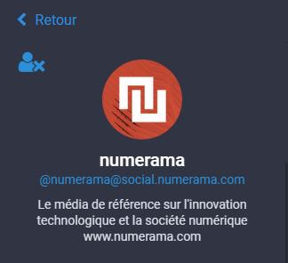 Image de l'instance de Numérama